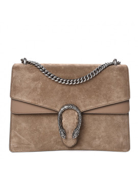 gucci-suede-medium-dionysus-shoulder-bag-taupe by gucci