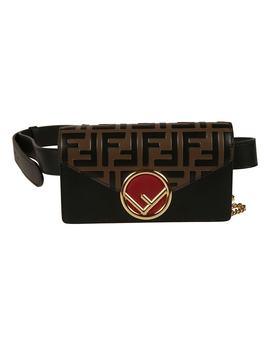 fendi-logo-plaque-belt-pouch by fendi