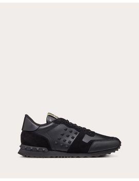 Calfskin Rockstud Sneaker by Valentino Garavani