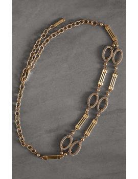 jewel-chain-belt by bcbgmaxazria