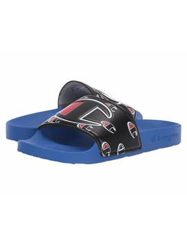 """champion-mens-ipo-repeat-""""c""""-slide,-adult,-surf-the-web_black by champion"""
