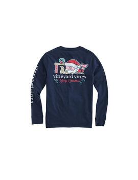boys-2019-santa-whale-long-sleeve-pocket-t-shirt by vineyard-vines