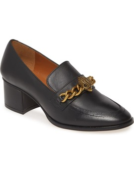 block-heel-loafer-pump by kurt-geiger-london