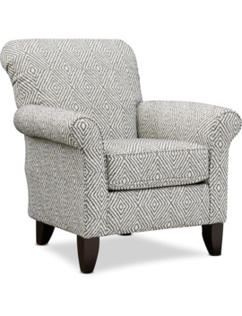 Kingston Patterned Accent Chair by Value City Furniture