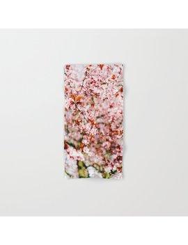 cherry-blossom-tree-(color)-hand-&-bath-towel by society6