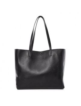 stella-mccartney-eco-alter-nappa-perforated-logo-tote-black by stella-mccartney