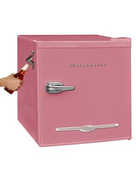 frigidaire-16-cu-ft-retro-mini-fridge-with-side-bottle-opener,-pink by frigidaire
