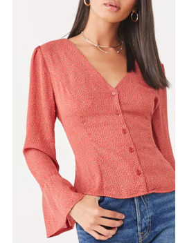 geo-print-button-down-top by forever-21