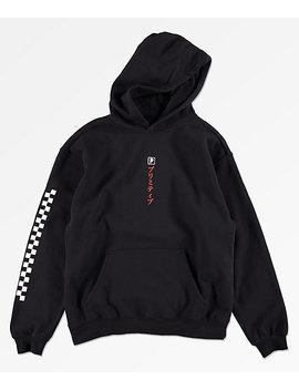 primitive-boys-samurai-black-hoodie by zumiez