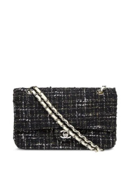 2003-tweed-cc-shoulder-bag by chanel-pre-owned