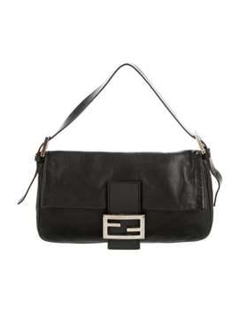 vintage-leather-shoulder-bag by fendi