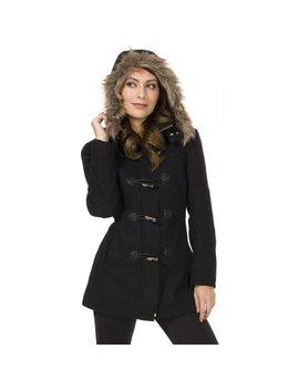alpine-swiss-duffy-womens-hooded-parka-fur-trim-wool-coat-toggle-button-jacket by alpine-swiss