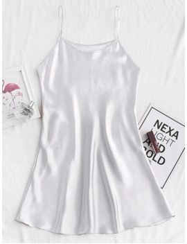 popular-salesilky-cami-mini-pajama-dress---silver-s by zaful