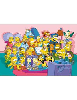 The Simpsons Sofa Cast by All Posters