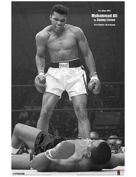 Ali Vs Liston Black And White by All Posters