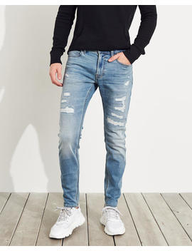 Advanced Stretch Super Skinny Jeans by Hollister
