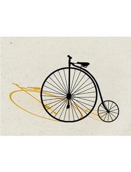 Penny Farthing Pop Art by All Posters