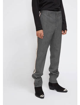 glen-plaid-ribbon-stripe-trouser by calvin-klein-205w39nyc