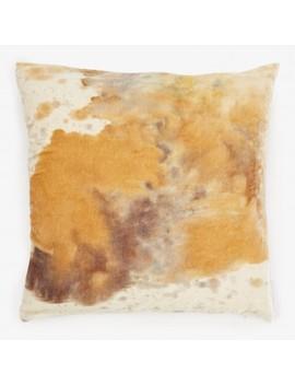 Aviva Stanoff Ritual Dye Velvet Pillow Matcha by Abc Home