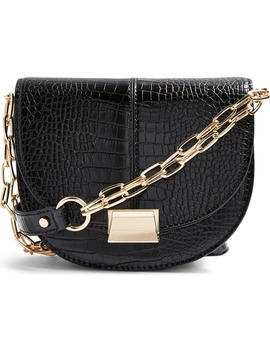 jess-moon-faux-leather-crossbody-bag by topshop