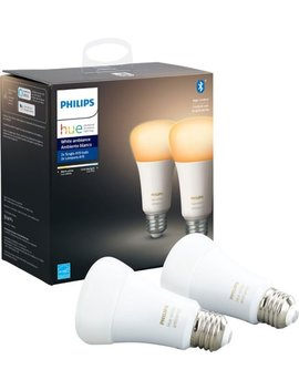 hue-white-ambiance-a19-bluetooth-smart-led-bulb-(2-pack)---adjustable-white by philips