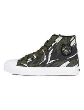 Tiger Nerm High Top Shoes (Tiger Camo) by Ripndip