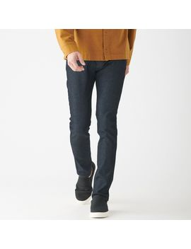 4-way-stretch-denim-skinny-(82cm-length) by muji