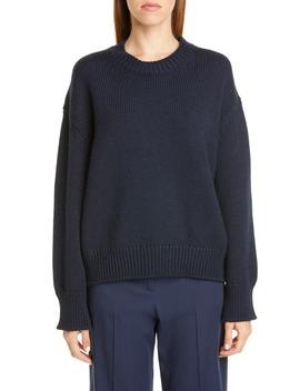 oversize-wool-sweater by mansur-gavriel