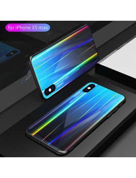 for-iphone-11-pro-max-tempered-glass-back-case-silicone-bumper-protective-cover by danlosig
