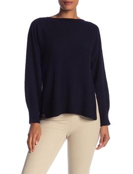 side-slit-wool-&-cashmere-blend-pullover by vince
