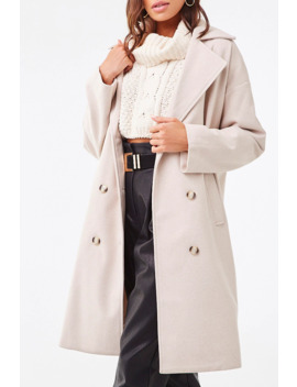 pinstriped-chevron-coat by forever-21