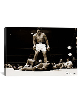 Muhammad Ali Vs. Sonny Liston, 1965 // Muhammad Ali Enterprises by Touch Of Modern