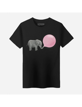 Elephant T Shirt // Black by Touch Of Modern