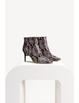 Arezoo Boot   Faux Snake by Cult Gaia