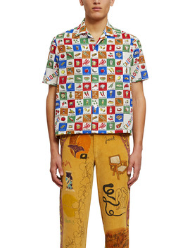 calorie-print-louie-shirt by bode