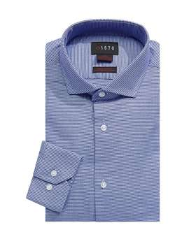 slim-fit-digital-texture-dress-shirt by 1670