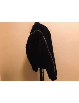 fw14-wool-back-zip-bomber by dries-van-noten  ×