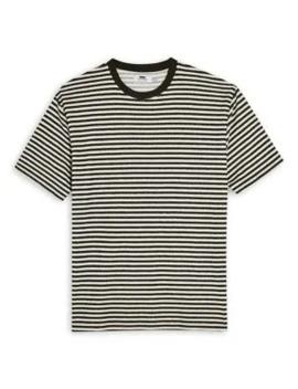 textured-stripe-t-shirt by topman