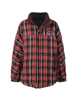 Check Embroidery Winter Jacket by Napapijri