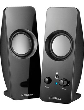 speakers---black by insignia