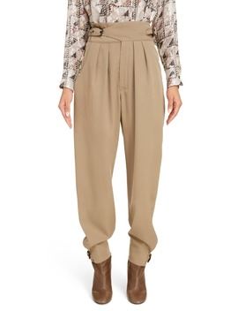 pleated-wool-pants by isabel-marant