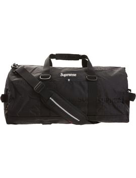 supreme-duffle-bag-(ss19)-black by stockx