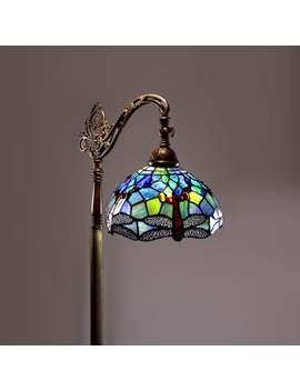 tiffany-style-dragonfly-floor-lamp by warehouse-of-tiffany