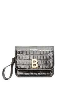 b-xxs-crocodile-effect-leather-bag by balenciaga