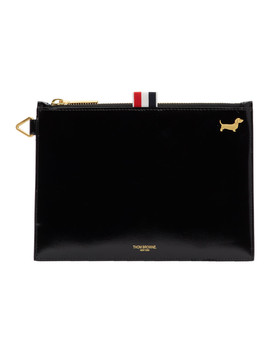 black-large-hector-coin-purse by thom-browne