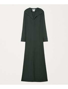 dress-in-gabardine by bottega-veneta