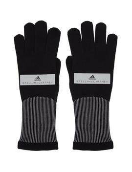 black-running-gloves by adidas-by-stella-mccartney