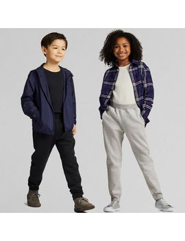 kids-dry-stretch-sweat-pants by uniqlo