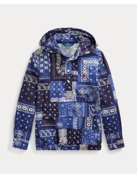 patchwork-hooded-shirt by ralph-lauren