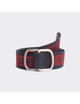 webbed-logo-belt by tommy-hilfiger